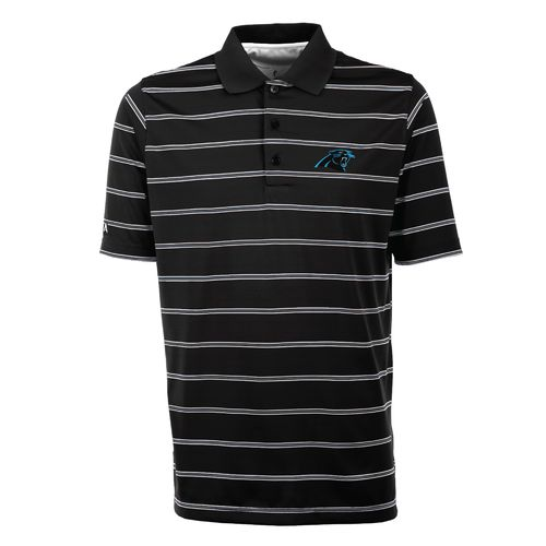Antigua Men's Carolina Panthers Deluxe Polo Shirt