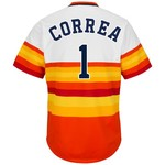 Majestic Men's Houston Astros Carlos Correa #1 Cool Base Cooperstown Jersey