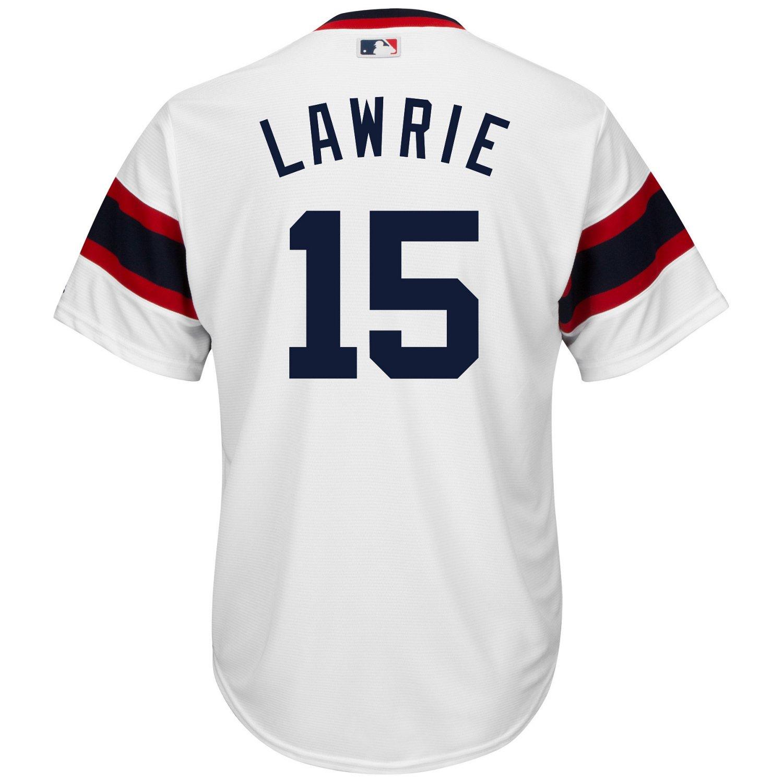 Majestic Men's Chicago White Sox Brett Lawrie #15 Cool Base Replica Jersey