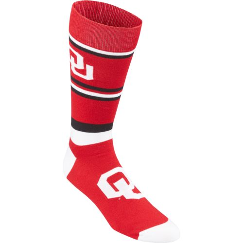 For Bare Feet Men's University of Oklahoma Dress Socks