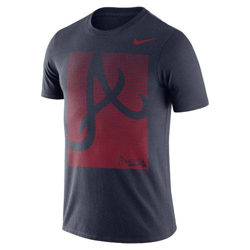 Nike Men's Atlanta Braves Fade T-shirt