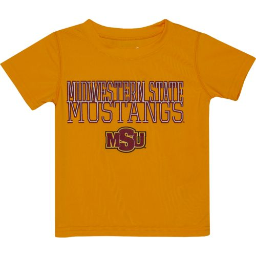 Gen2 Toddlers' Midwestern State University Overlap Poly T-shirt