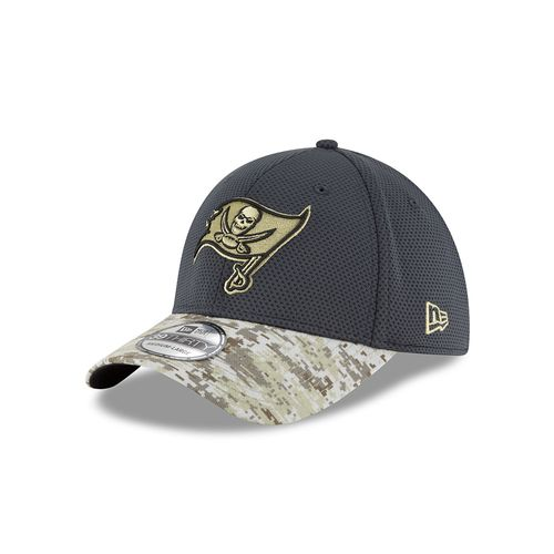 New Era Men's Tampa Bay Buccaneers Salute to Service 39THIRTY Cap
