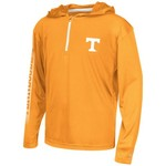 Colosseum Athletics™ Boys' University of Tennessee Sleet 1/4 Zip Hoodie Windshirt
