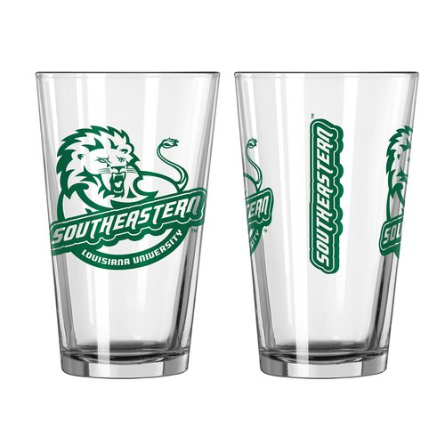 Boelter Brands Southeastern Louisiana University Game Day 16 oz. Pint Glasses 2-Pack