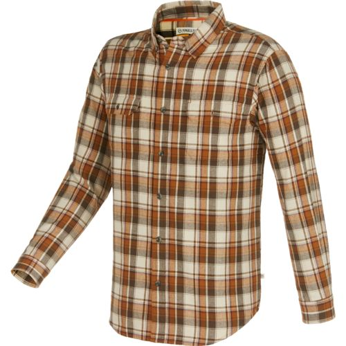 Magellan Outdoors Men's Hunter Creek Performance Plaid Flannel Shirt