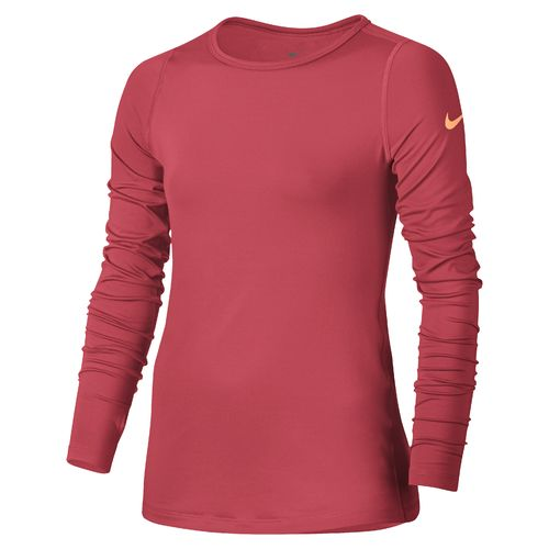 Girls 39 shirts tops for girls girls 39 t shirts academy for Under armour dri fit long sleeve shirts