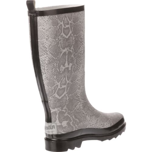 Austin Trading Co. Women's Snakeskin Rubber Boots - view number 3