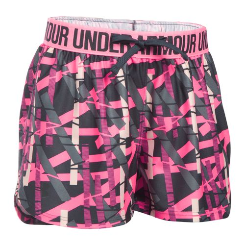 Under Armour Girls' Printed Play Up Short