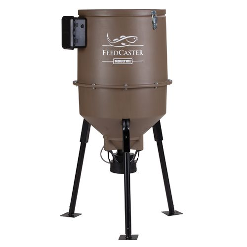 Display product reviews for Moultrie Feedcaster 30-Gallon Fish Feeder