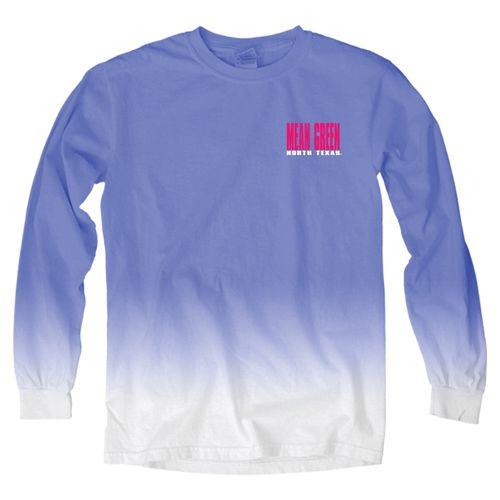 Blue 84 Women's University of North Texas Ombré Long Sleeve Shirt - view number 2