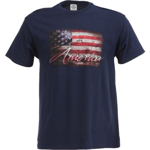 Academy Sports + Outdoors Men's American Flag T-shirt