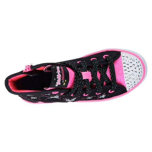 SKECHERS Girls' Twinkle Toes Shuffles Shoes - view number 5