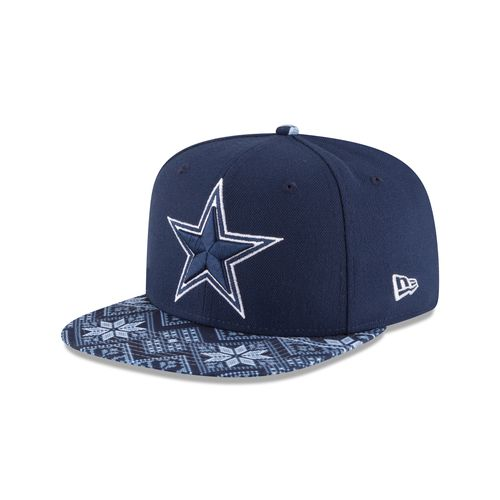 New Era Men's Dallas Cowboys Print and Play Holiday 9FIFTY® Cap