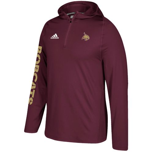 adidas Men's Texas State University Sideline Training Hoodie