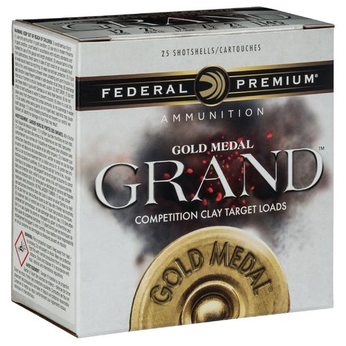 Federal Premium Gold Medal Grand 12 Gauge Shotshells