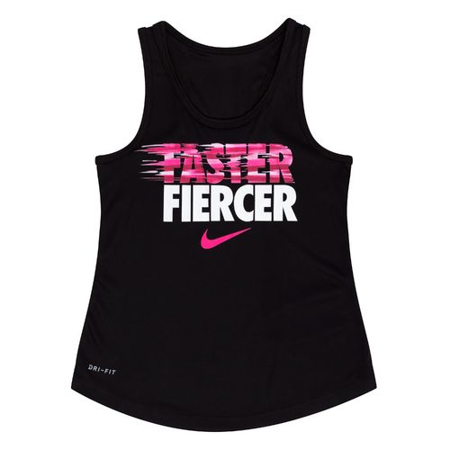 Nike Girls' Faster Fiercer Dri-FIT A-Line Tank Top - view number 1