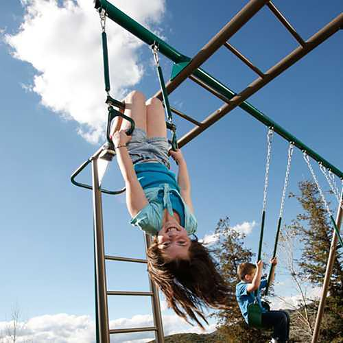 Lifetime Monkey Bar Swing Set - view number 2