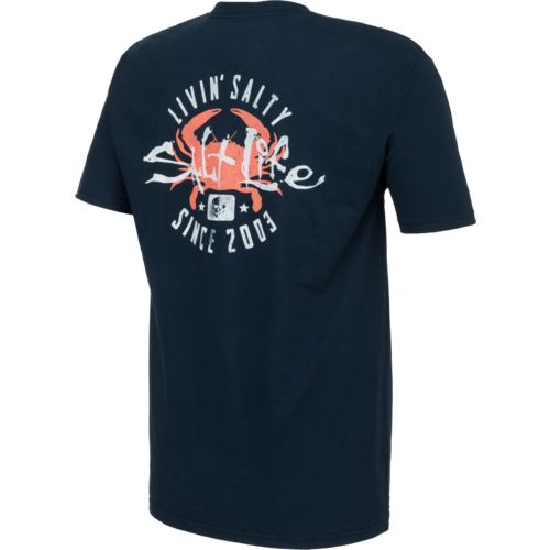 Salt Life Men's Salty Crab Short Sleeve T-shirt - view number 2