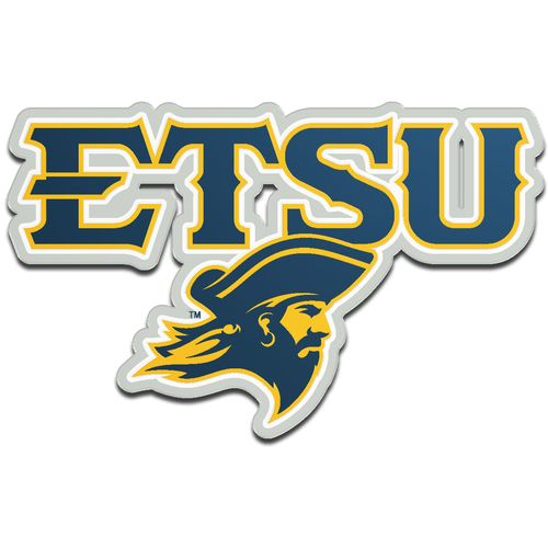 Stockdale East Tennessee State University Metallic Auto Emblem