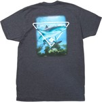 Columbia Sportswear Men's PFG Graphic Crew Neck T-shirt - view number 4