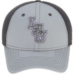 New Era Men's Louisiana State University Grayed Out Neo 39THIRTY Cap - view number 1
