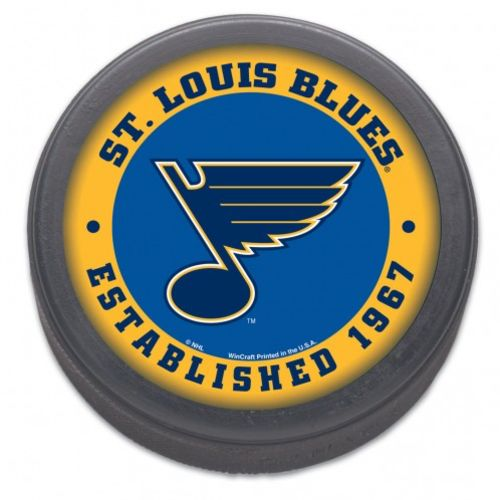 WinCraft St. Louis Blues Hockey Puck - view number 1