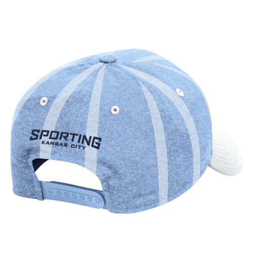 adidas™ Men's Sporting Kansas City Structured Adjustable Jersey Cap - view number 2