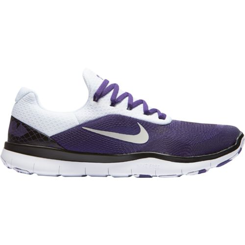 Nike Men's Texas Christian University Free Trainer V7 Week Zero Training Shoes - view number 1