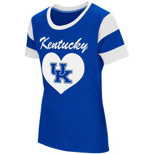 Colosseum Athletics Girls' University of Kentucky Bronze Medal Short Sleeve T-shirt