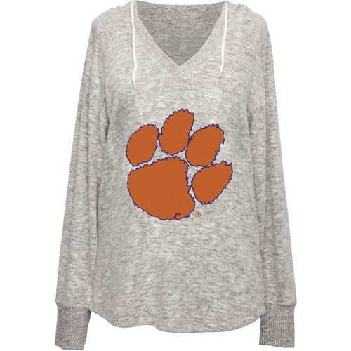 Chicka-d Women's Clemson University V-neck Hoodie