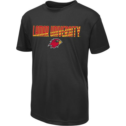 Colosseum Athletics Boys' Lamar University Team Stripe T-shirt