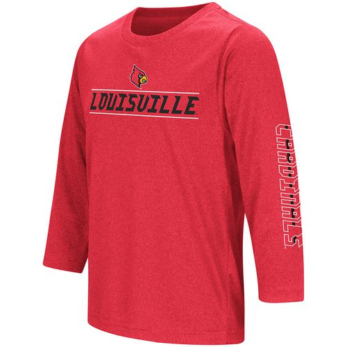 Colosseum Athletics Boys' University of Louisville Long Sleeve T-shirt
