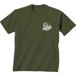 New World Graphics Women's Southeastern Louisiana University Comfort Color Initial Pattern T-shi - view number 2