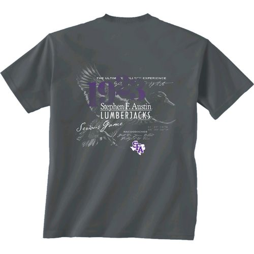 New World Graphics Men's Stephen F. Austin State University In Flight T-shirt