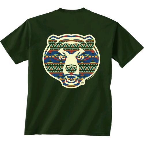 New World Graphics Women's Baylor University Logo Aztec T-shirt