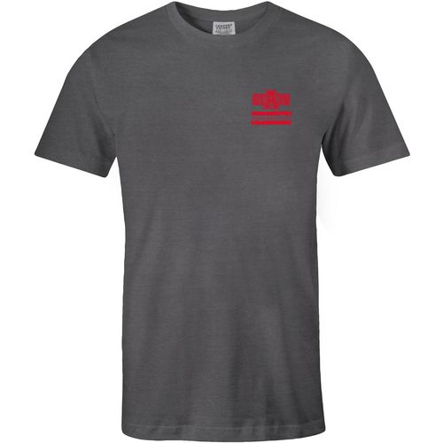 Image One Men's Arkansas State University Distressed Flag T-shirt