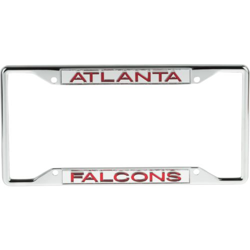 Stockdale Atlanta Falcons Mirrored License Plate Frame