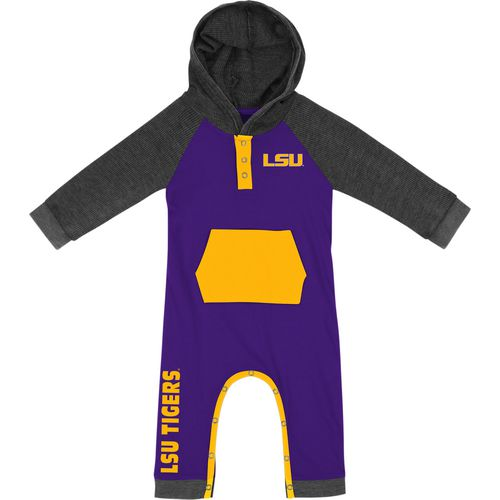 Colosseum Athletics Infant Boys' Louisiana State University Truffle Ruffle Onesie