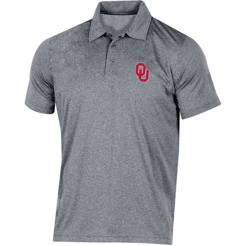 Champion Men's University of Oklahoma Heather Polo Shirt