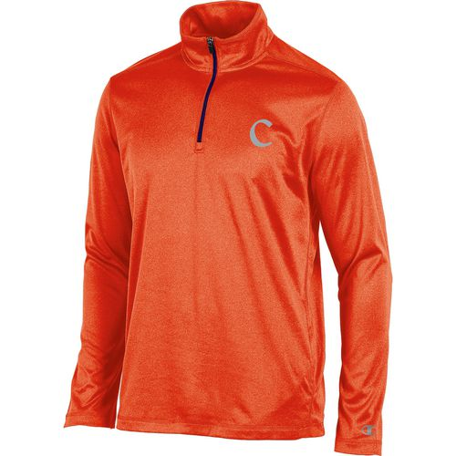 Champion Men's Clemson University Victory 1/4 Zip Long Sleeve Pullover