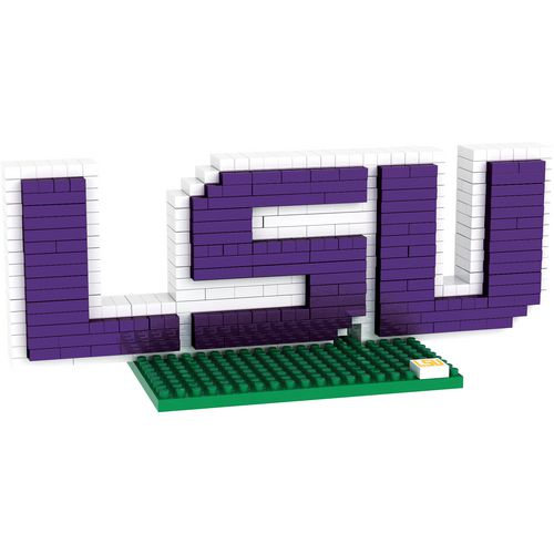 Forever Collectibles Louisiana State University BRXLZ 3-D Logo Puzzle