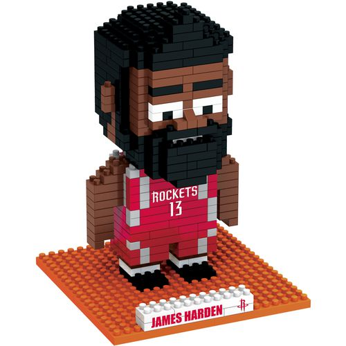 Forever Collectibles Houston Rockets James Harden BRXLZ 3-D Player Puzzle