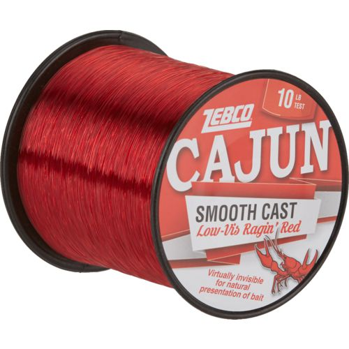 Zebco Cajun Low-Vis Ragin' Red Fishing Line