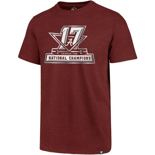 '47 Brand Men's University of Alabama 2017 CFP National Champs Club T-Shirt