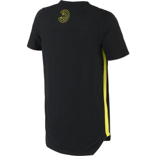 Nike Men's Atlanta Hawks EXP Dry City Edition T-shirt - view number 2