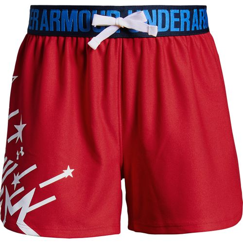 Under Armour Girls' Americana Play Up Shorts