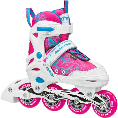 Roller Derby Girls' Ion 7.2 Adjustable In-Line Skates