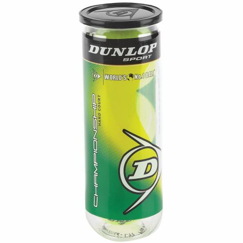 Dunlop Championship Hard Court Tennis Balls 1 Can/3-Pack - view number 1