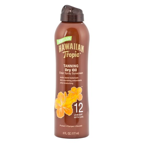 Hawaiian Tropic® 6 fl. oz. SPF 12 Continuous Spray Tanning Oil